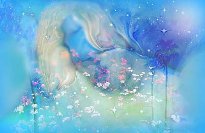 Universe Painting - Sleeping In The Heavens by Sherri  Of Palm Springs