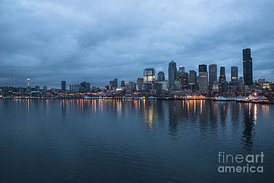 Sleepless In Seattle Print by Eric Chegwin
