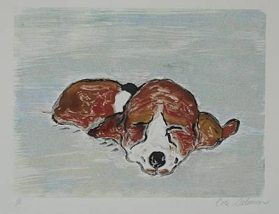 Sleepyhead Print by Cori Solomon
