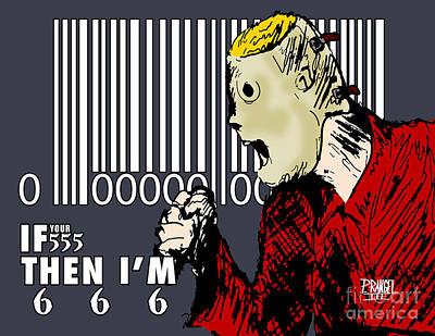 Corey Drawing - Slipknot Series Corey Taylor by Phillip Rangel