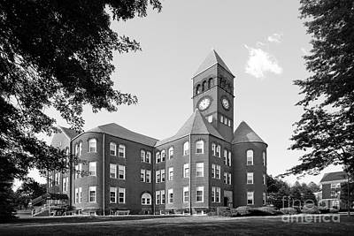 The Main Photograph - Slippery Rock University Old Main by University Icons