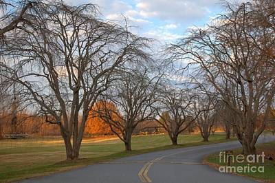 Kerr County Photograph - Sloan Park Sunset by Adam Jewell