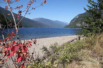 Slocan Lake Original by Graham Foulkes