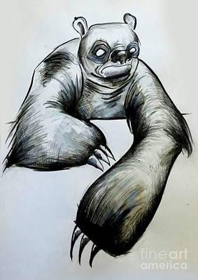 Sloth Drawing - Sloth by Angel  Mey