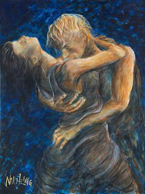 Tango Painting - Slow Dancing IIi by Nik Helbig