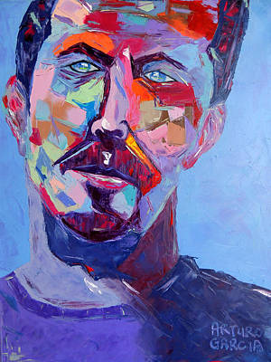 Slowhand Painting - Slowhand by Arturo Garcia