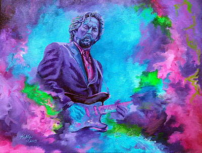 Eric Clapton Painting - Slowhand by Kathleen Kelly Thompson