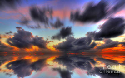 Abstract Photograph - Slowly Drifting by Jeff Breiman