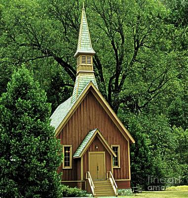 Small Chapel  Print by Kathleen Struckle