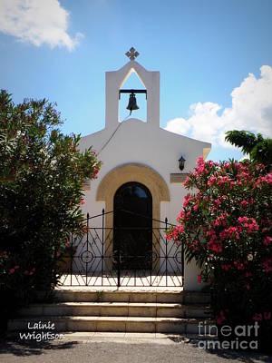 Small Crete Chapel Print by Lainie Wrightson