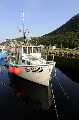 Maddox Photograph - Small Fishing Boat by Norman Pogson