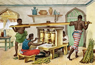 Small Portable Sugar Mill, Illustration From Voyage Pittoresque Et Historique Au Bresil, 1835 Print by Jean Baptiste Debret