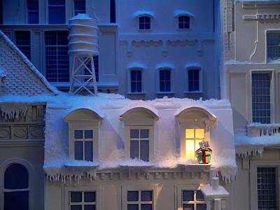 Miniature Nyc Photograph - Small World - Tiffany Christmas 3 by Richard Reeve