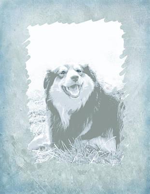 Smile Print by Ann Powell