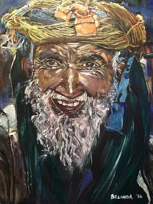 Vangogh Painting - Smile by Belinda Low