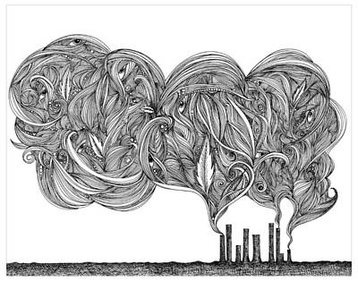 Smoke Print by Jody Pham