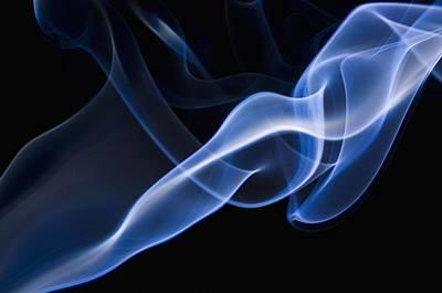 Smoke Patterns Print by Corey Hochachka