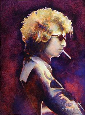 Bob Dylan Painting - Smoke by Robert Hooper