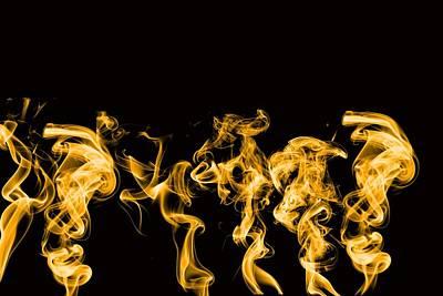 Smokin Print by Phillip J Gordon
