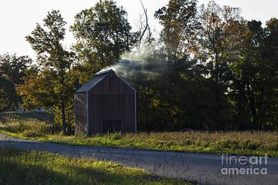 Murray Kentucky Photograph - Smoking Tobacco by Amber Kresge