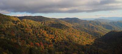 Smoky Mountain Morning In October Print by Dan Sproul