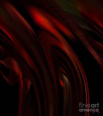 Digital Digital Art - Smoldering by Patricia Kay