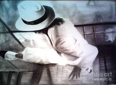 Michael Jackson Art Drawing - Smooth Criminal by Adrian Pickett