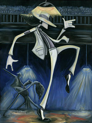 African-american Painting - Smooth Criminal by Tu-Kwon Thomas