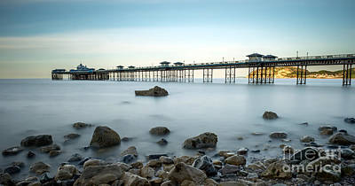 Pier Digital Art - Smooth Waters by Adrian Evans