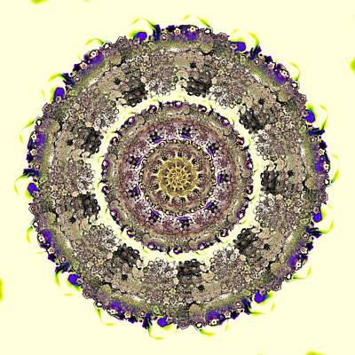 Snake Mandala Print by Anastasiya Malakhova