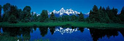 Snake River & Teton Range Grand Teton Print by Panoramic Images