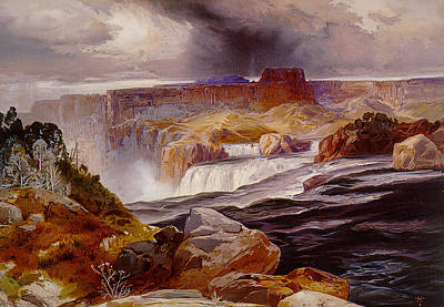Snake River Idaho 1876 Print by Unknown