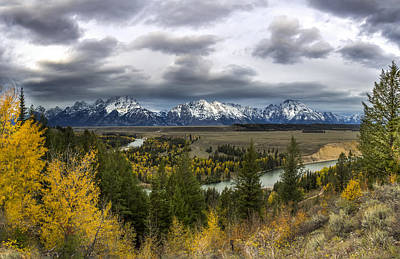 Outlook Photograph - Snake River Overlook  Xl by Jennifer Grover