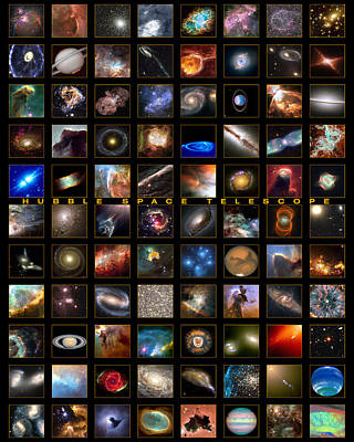 Outer Space Painting - Snapshots Of A Universe by Nasa