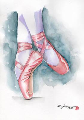 Sneaker Ballet Print by Rodrigo Chaem