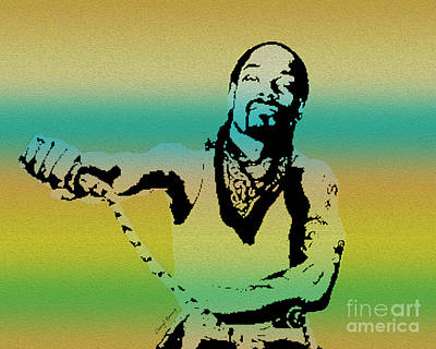 Snoop Print by Cheryl Young