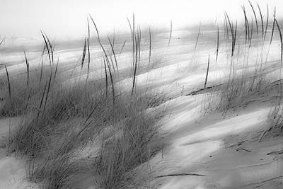 Snow Covered Beach Original by Sherry Piet
