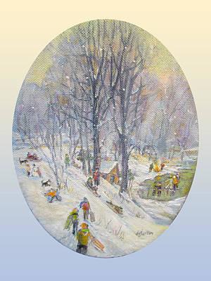 Snow Day Original by Donna Tucker