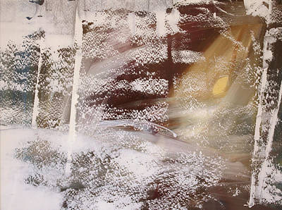 Snow Moon  December Print by Ethel Vrana