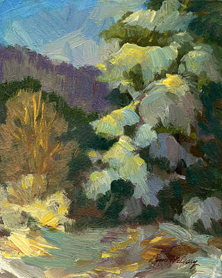 Snow Shadows 1 Original by Diane McClary