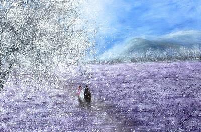 Snow Tree Print by Kume Bryant