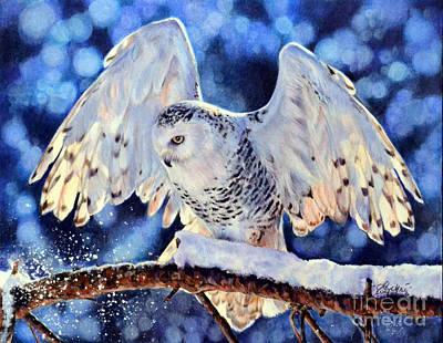 Snowy Painting - Illumination by Lachri
