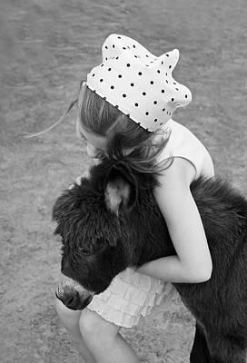 Burro Photograph - So In Love by Brooke Ryan