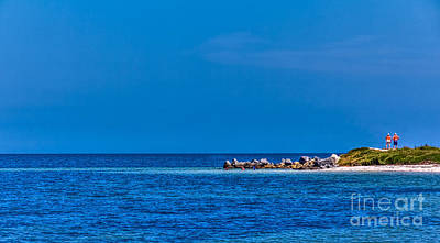 Pensacola Beach Photograph - So This Is The Gulf Of Mexico by Marvin Spates