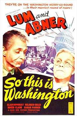 So This Is Washington, Us Poster Print by Everett