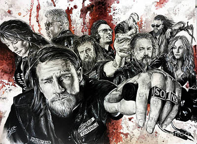 Boobies Drawing - SOA by S G Williams