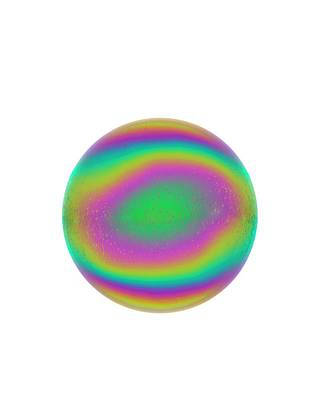 Psychedelic Photograph - Soap Bubble by David Parker