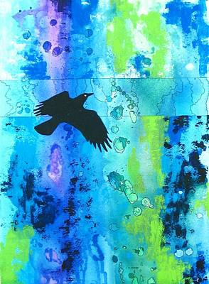 Canadian Painting - Soaring by Louise Adams