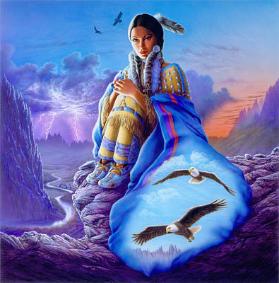 Native American Photograph - Soaring Spirit by Andrew Farley