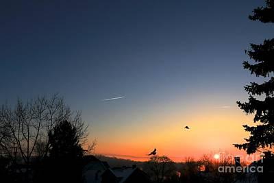 Soaring Sunrise 2 Print by Jay Nodianos